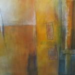 D | Zonder titel | Acryl op linnen | 60 x 70 cm